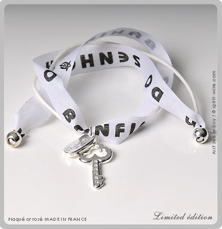 Bonfim key silver white limited
